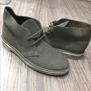 Olive Green Clarks Desert Boots Us Size